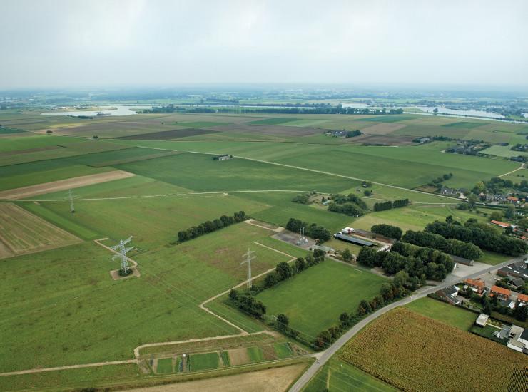 Luchtfoto's gebied