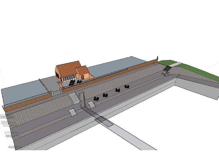 Het aanpassen van het havenfront Hanssum